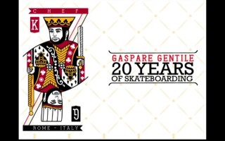 "Gaspare Gentile: ""20 Years of Skateboarding"""