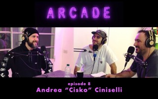 """Arcade Studio Podcast con Andrea """"Cisko"""" Ciniselli"""